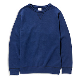 YAECA - SUNDAY COTTON CREW NECK SWEAT SHIRTS