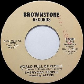 Every day People, featuring Alexis - World full of people