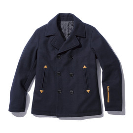 SOPHNET. -  WOOL MELTON P COAT