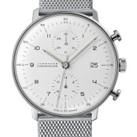 Max Bill by Junghans - Max Bill Chronoscope 027/4003.44