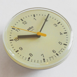Braun Wall Clock - Domoflex/Type4833 Made in Germany