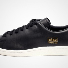 "adidas - Superstar 80's Clean ""Black"""
