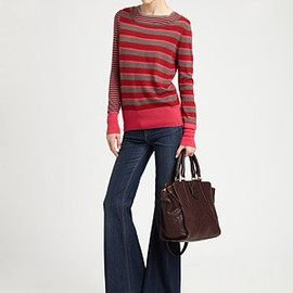 MARC BY MARC JACOBS - Yaani Striped Wool Sweater
