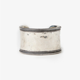 nonnative - EXPLORER BANGLE WIDE 925 SILVER