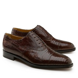 Brooks Brothers - Lizard Captoe Lace-Up