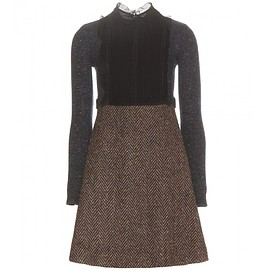 VALENTINO - Wool-blend dress
