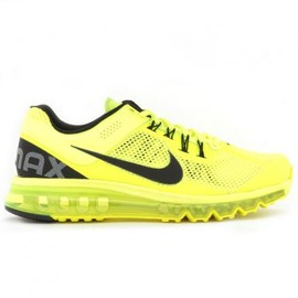 Nike - NIKE AIR MAX+ 2013 VOLT/BLACK-WHITE