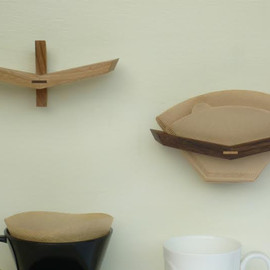 spoon&tamago - Wooden Coffee Filter Holder
