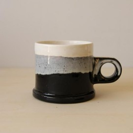 Echo Park Pottery - Mug White × Black