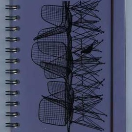 Eames - office stationary / Wire Chair Journal Book