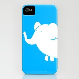 Skylar Hogan - White Elephant  iPhone Case