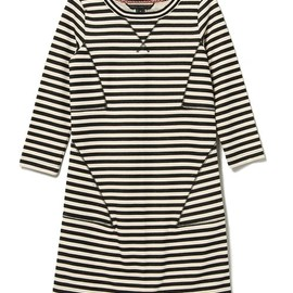 MARC BY MARC JACOBS - BEN STRIPED TERRY DRESS