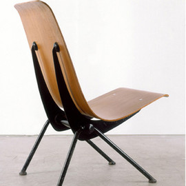 "Jean Prouvé - ""Anthony"" chair, 1954"