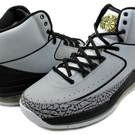 NIKE - AIR JORDAN 2.0 wolf grey/blk-m.gold
