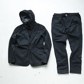 Phenix - Phenix × GEARHOLIC Rainfall jacket & pants
