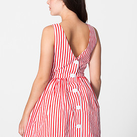 American Apparel - Stripe Sun Dress