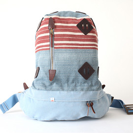 visvim - SUMMIT PAPOOSE STRIPE Backpac