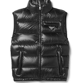 Prada - Quilted Ripstop Down Gilet