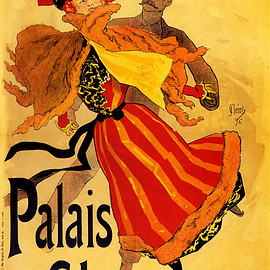 Vintage French Palais de Glace Ad Poster