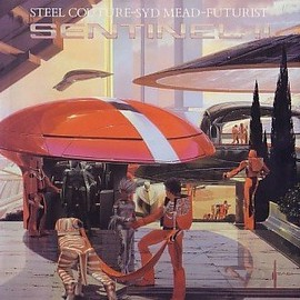 Syd Mead - Sentinel II : steel couture, Syd Mead, futurist
