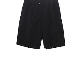 NADA. - Punching fake suede easy shorts
