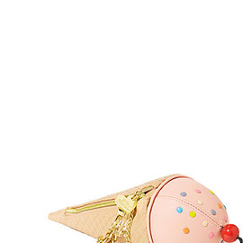 BETSEY JOHNSON - ICE CREAM CONE WRISTLET FUSCHIA