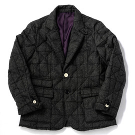 bal - DOWN QUILTED TAILORED JACKET