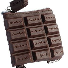 deccac - Chocolate Candy Bar Style Scented Coin Purse