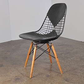 Herman Miller - vintage Eames PKW Wire Chair bk
