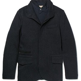 Loro Piana - Cashmere-Blend Jacket With Removable Shell Jacket