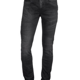 Neil Barrett - Vintage Zipper Grey Super Skinny Fit