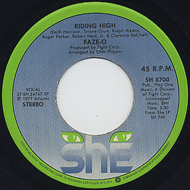 Faze-O - Riding High c/w True Love (7inch)