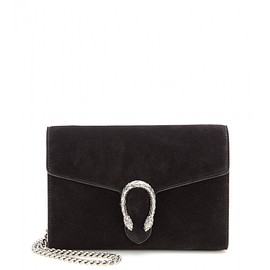 GUCCI - FW2015 Embellished suede shoulder bag