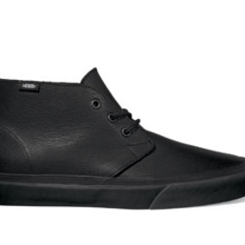 VANS - CHUKKA DECON CA (LEATHER) BLACK