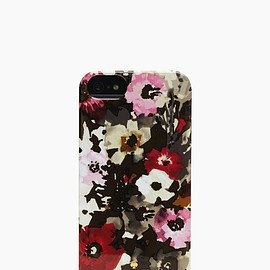 kate spade NEW YORK - RESIN IPHONE CASE AUTUMN FLORAL 5/5S
