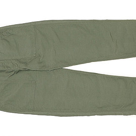 ENGINEERED GARMENTS - Fatigue Pant-Cotton Double Cloth-Olive