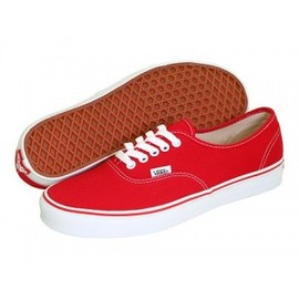 Vans - Vans Authentic red
