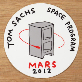 Tom Sachs - Space Program Sticker