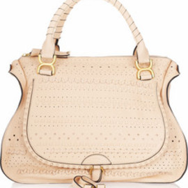 Chloé  - Marcie Large perforated leather tote