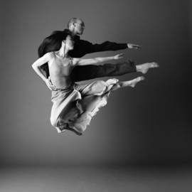Miki Orihara and Stephen Pier by John Deane - Parallel Jump
