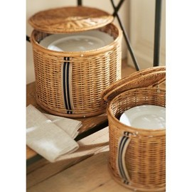 potterybarn - PANTRY PLATE STORAGE BASKET