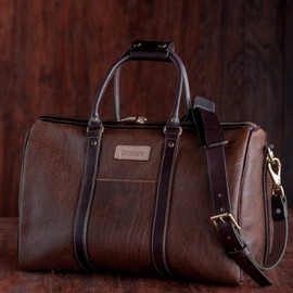 Coronado Leather - Oil-Tanned Bison Duffel