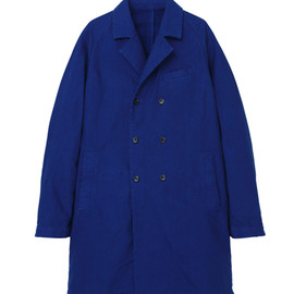 good thing - cotton raglan double breased coat