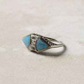 Anthropologie - Opal Doublet Ring