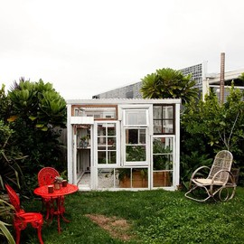Lucy & Stephen Marr's - gorgeous garden shed.