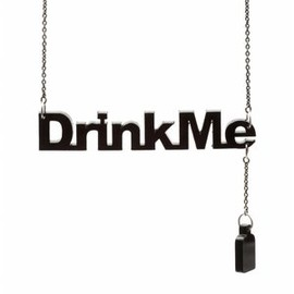 """Disney Couture - """"Drink Me"""" Necklace"""