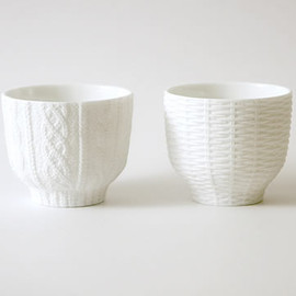 Cement Produce Design - Knitwear/Rattan cup