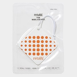 retaW, THE CONVENI - Fragrance Car Tag GINZA*
