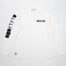 "cup and cone - ""cup and cone x BIKELORE 4"" L/S Tee"