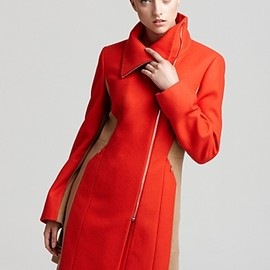 Calvin Klein - Calvin Klein Color Blocked Coat